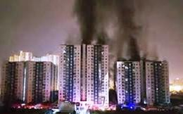 Cháy chung cư Carina: Chủ đầu tư đối thoại trực tiếp với cư dân