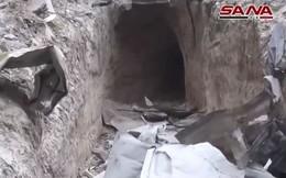 Syria: Quân đội phát hiện bí mật dưới mạng lưới đường hầm của khủng bố ở Ghouta