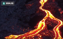 Cận cảnh dòng dung nham núi lửa chảy miên man không ngừng từ năm 1983