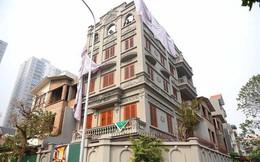 Phá dỡ xong giai đoạn 1 phần biệt thự sai phạm của gia đình cựu Thiếu tướng Nguyễn Thanh Hóa