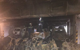 Chưa khởi tố vụ cháy chung cư Carina Plaza