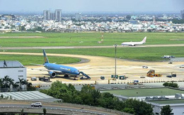 Xác định diện tích đất phải thu hồi mở rộng sân bay Tân Sơn Nhất