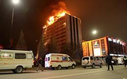 Thêm vụ cháy nhà cao tầng ở Nga: 200 người sơ tán khẩn cấp