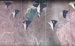 """Siêu tiêm kích Mỹ """"cắt đôi"""" máy bay địch bằng pháo laser, F-35 chỉ huy """"bầy"""" UAV tác chiến"""