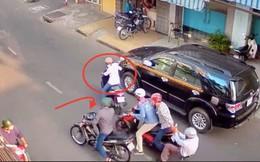Người đàn ông bị cướp túi xách có gần 300 triệu giữa Sài Gòn