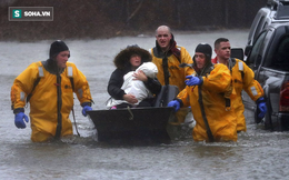 """Tấn công bờ Đông nước Mỹ: """"Bom bão"""" từ Đại Tây Dương khiến hơn 1 triệu người khốn khổ"""