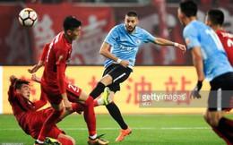 """Bỏ Atletico sang Trung Quốc, ngôi sao từng """"hành hạ"""" Real khởi đầu không thể tệ hại hơn"""