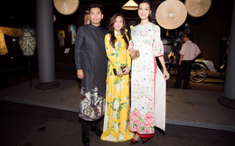 Bà mẹ 3 con Thu Hoài nổi bật, tự tin đọ sắc cùng Thùy Dung
