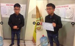 Nam sinh THPT dùng iPad quay lén trong nhà vệ sinh nữ ở siêu thị bị phát hiện