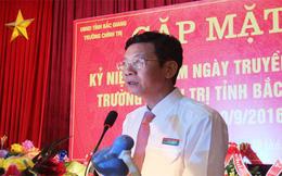 Đề nghị kỷ luật Hiệu trưởng Trường Chính trị tỉnh Bắc Giang