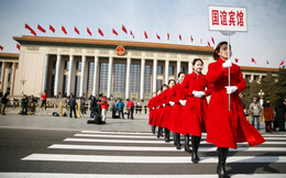 Những hình ảnh ấn tượng tại phiên khai mạc Lưỡng hội Trung Quốc 2018