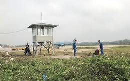Cảng Hàng không Vinh cắt cỏ, lập thêm chốt an ninh sau khi bị  đột nhập