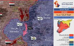 """""""Quả đấm thép"""" Syria quyết bao vây kết liễu phiến quân ở Đông Ghouta"""