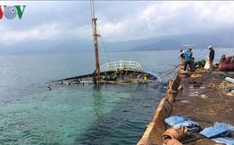 Trục vớt 8 tàu hàng bị chìm trên biển Quy Nhơn