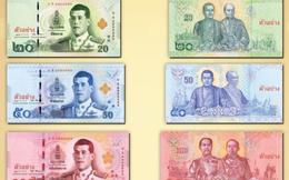 Thái Lan phát hành tiền giấy mới trên tất cả các mệnh giá