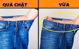 """Khỏi vào phòng thử đồ: Bạn cứ theo cách này mà mua quần Jean, đảm bảo vừa khít """"bo-đì"""""""