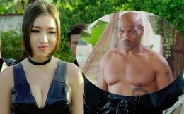 Hình ảnh bỏng mắt của Elly Trần khi đóng phim cùng Mike Tyson, Trương Quân Ninh