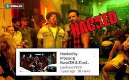 """Hàng loạt MV nổi tiếng trên Youtube bị hacker """"tấn công"""""""