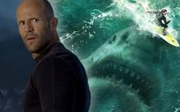 Phim hành động kinh dị The Meg: Jason Statham và Lý Băng Băng đối đầu cá mập bạo chúa