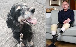 Chỉ vì một vết xước do chó cưng gây ra khi chơi đùa, người đàn ông cụt 2 chân, mất 6 ngón tay và biến dạng mặt
