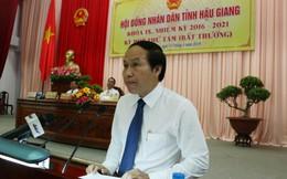 Ông Lê Tiến Châu được bầu làm Chủ tịch UBND tỉnh Hậu Giang
