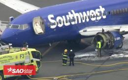 Động cơ máy bay nổ tung giữa trời, hành khách bị hút ra ngoài