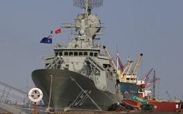 Cận cảnh 3 chiến hạm Hải quân Hoàng gia Australia thăm TP HCM