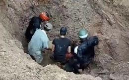 Cặp vợ chồng thoát chết kỳ diệu dưới độ sâu 2m khi bị đất vùi