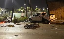 Nguyên nhân ban đầu vụ ô tô đâm hàng loạt xe máy khiến 2 người chết, nhiều người bị thương