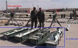 Cận cảnh số vũ khí QĐ Syria thu giữ của phiến quân ở Qalamun: Có tên lửa Mỹ, Trung Quốc