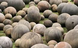 Bí ẩn khó lý giải về những khối đá hình cầu khổng lồ nghìn năm tuổi