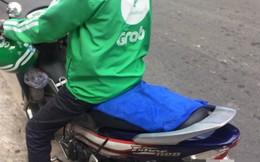 Chiếc khăn trải lên yên xe và lời nói ngại ngùng của tài xế Grabbike