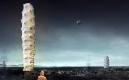 Nhà chọc trời có thể gấp gọn và chuyển đi như chơi origami sẽ giải cứu thế giới này