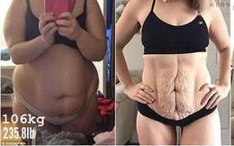 """Hành trình lấy lại dáng chuẩn sau sinh của bà mẹ từng """"béo nứt da nứt thịt"""""""