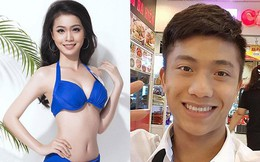 """Tân Hoa hậu Biển Việt Nam toàn cầu """"thả thính"""" hot boy U23 Việt Nam?"""
