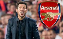 Huấn luyện viên Simeone từ chối dẫn dắt Arsenal!