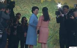 Đệ nhất Phu nhân Triều Tiên Ri Sol Ju tới Bàn Môn Điếm, hội kiến TT Hàn Quốc cùng phu nhân