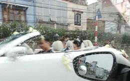 Đón dâu bằng xe mui trần khi trời mưa, đây hẳn là cặp đôi nhọ nhất ngày