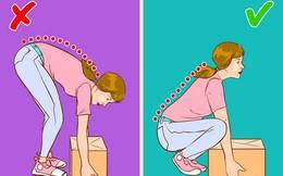 8 thói quen gây hại cho lưng có thể bạn vẫn làm hàng ngày mà không biết