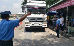 Đề xuất nâng mức xử phạt xe chở hàng quá tải trọng