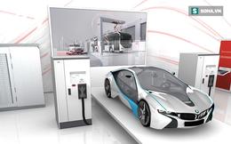 Bộ siêu sạc xe điện nhanh nhất thế giới: Chỉ cần 8 phút đi được 200km