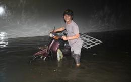 """Chủ đầu tư dự án hầm chui Điện Biên Phủ giải thích vụ """"hầm biến thành sông"""""""