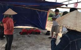 Ra khu mộ gia đình bất ngờ phát hiện bị đơn vị thi công đào chuyển đi nơi khác