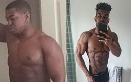 Yêu nhau 4 năm còn bị người yêu đá, chàng trai chán nản rồi lấy đó làm động lực để tập gym chăm chỉ