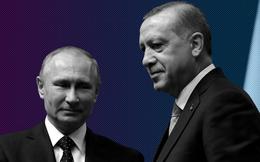 """Bằng mặt nhưng liệu có bằng lòng: TT Putin và TT Erdogan bắt tay trong """"thế thủ""""?"""