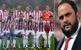 Thi đấu tệ hại, cả đội Olympiakos bị ông chủ đuổi