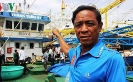 """Doanh nghiệp và ngư dân chưa thống nhất mức đền bù """"tàu 67"""" nằm bờ"""