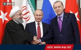 Bộ ba Nga - Thổ Nhĩ Kỳ - Iran họp mặt: Tam giác quyền lực mới đã được hình thành?