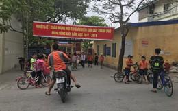 Cô giáo bắt học sinh uống nước giẻ lau bảng là con Phó phòng Giáo dục huyện