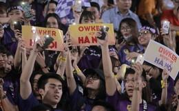 """""""Fandom quốc dân"""" của U23 Việt Nam hừng hực khí thế cổ vũ cho đại chiến Hà Nội - HAGL"""